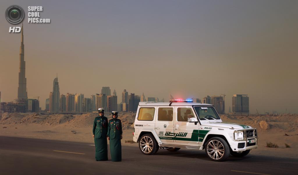 Дубайский полицейский от Brabus