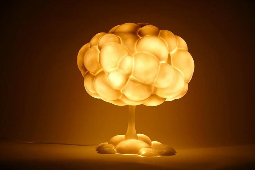 42.Светильник «Ядерный гриб»