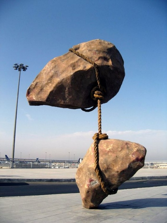 Летающий камень, Египет.