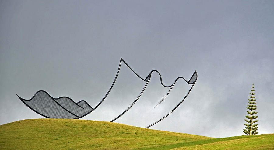 Носовой платок Гулливера, Новая Зеландия.