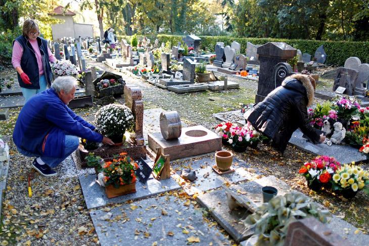 2. На кладбище похоронены животные-спасатели человеческих жизней. Возле входа на кладбище находится