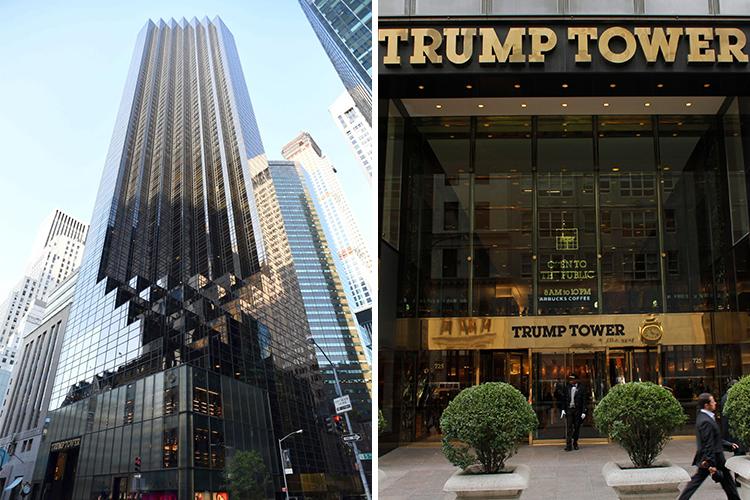 Итак, известный миллиардер Дональд Трамп вместе с красавицей женой Меланьей и сыном Бэрроном живут в
