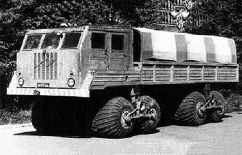 Самые крутые вездеходы Советского Союза