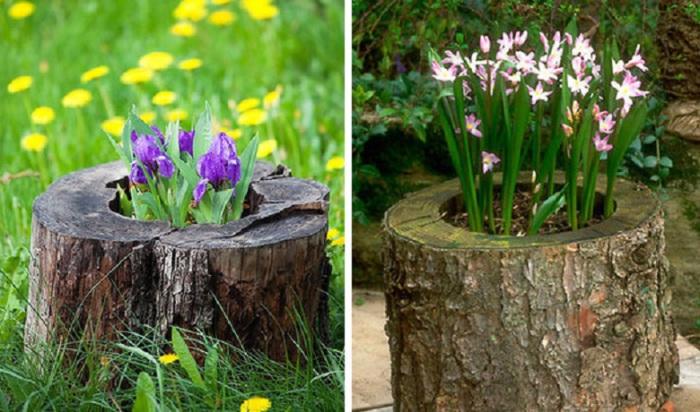 9. Клумба для выращивания цветов
