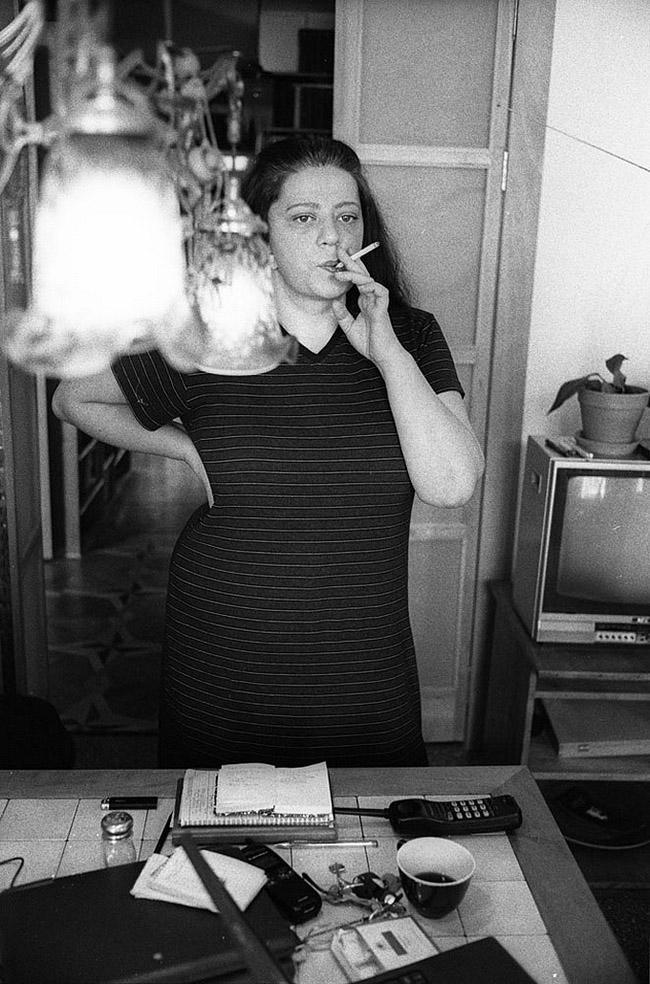 18. Татьяна Толстая, Москва, 2001 год.