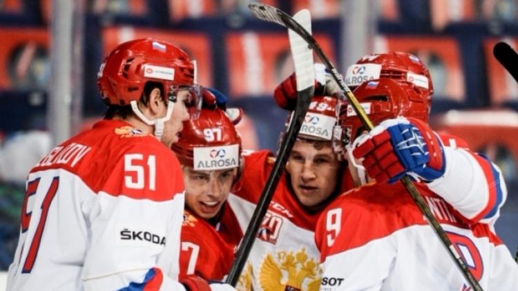 Хоккеисты сборнойРФ стали ближе кпобеде вХельсинки