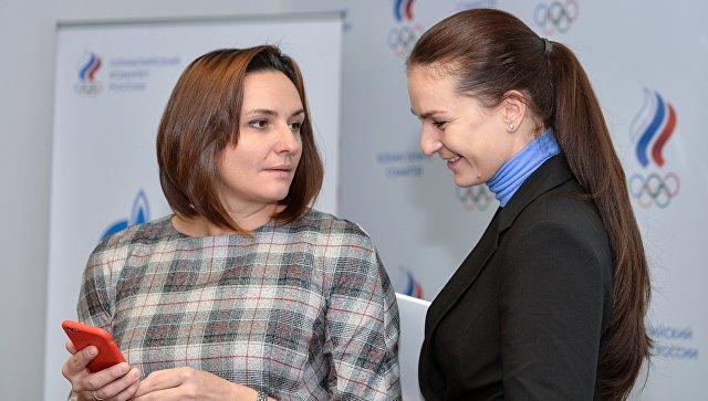 Великая назвала непредвиденным своё избрание председателем комиссии спортсменов ОКР