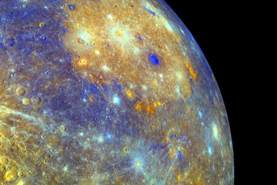 Ученые обнаружили воду наповерхности Меркурия