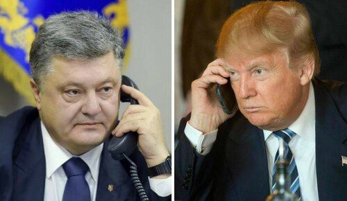 Идиоты у руля страны. Порошенко провёл телефонный разговор не с Трампом, а с пранкерами