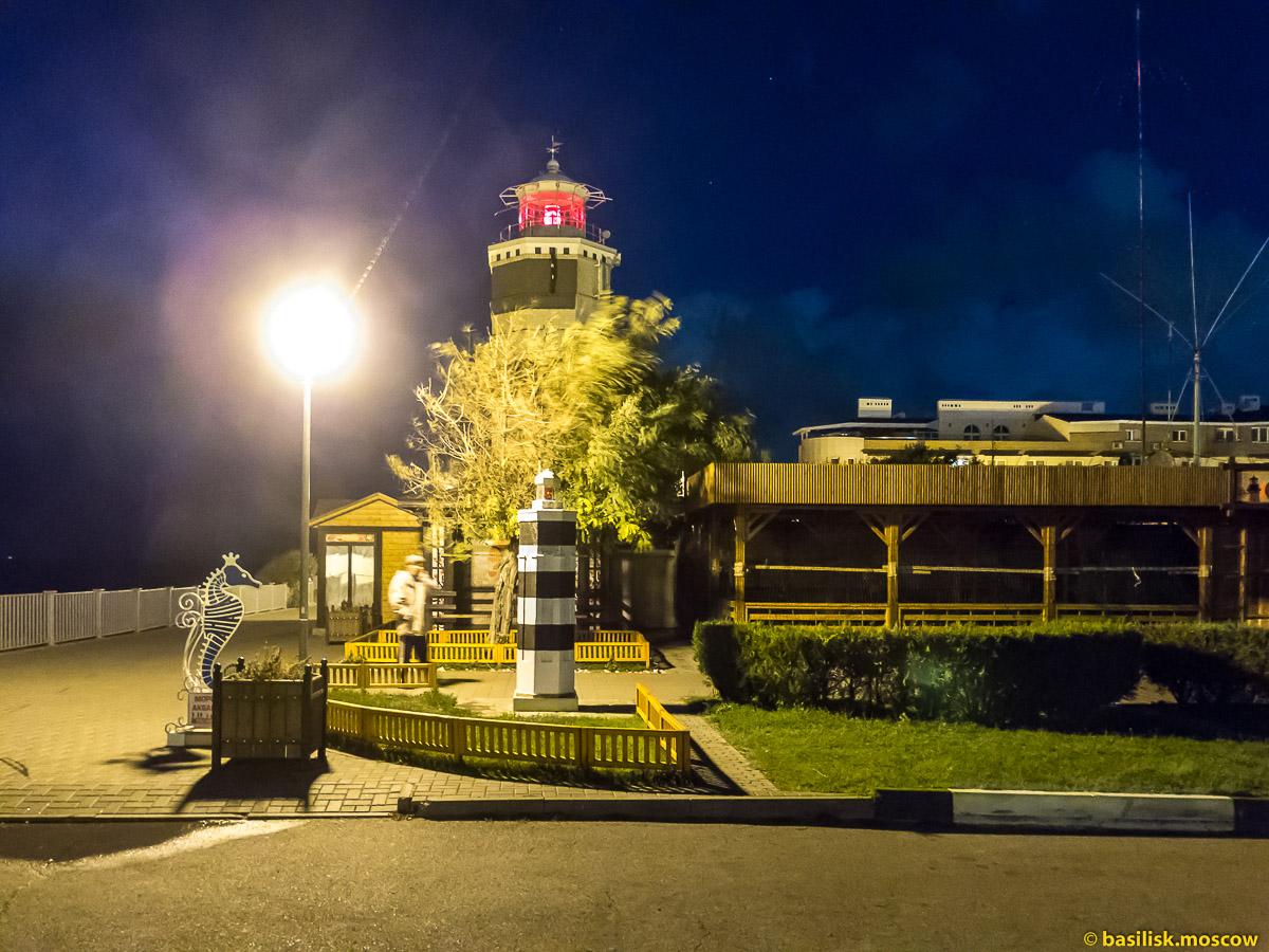 Анапский маяк. Октябрь 2016