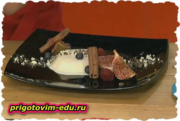 Десерт из ряженки. (HD) Видео рецепт
