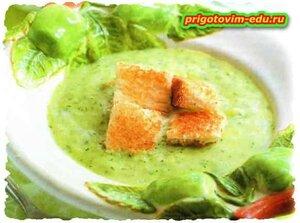 Яблочный крем-суп
