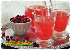 Фруктово-ягодный морс
