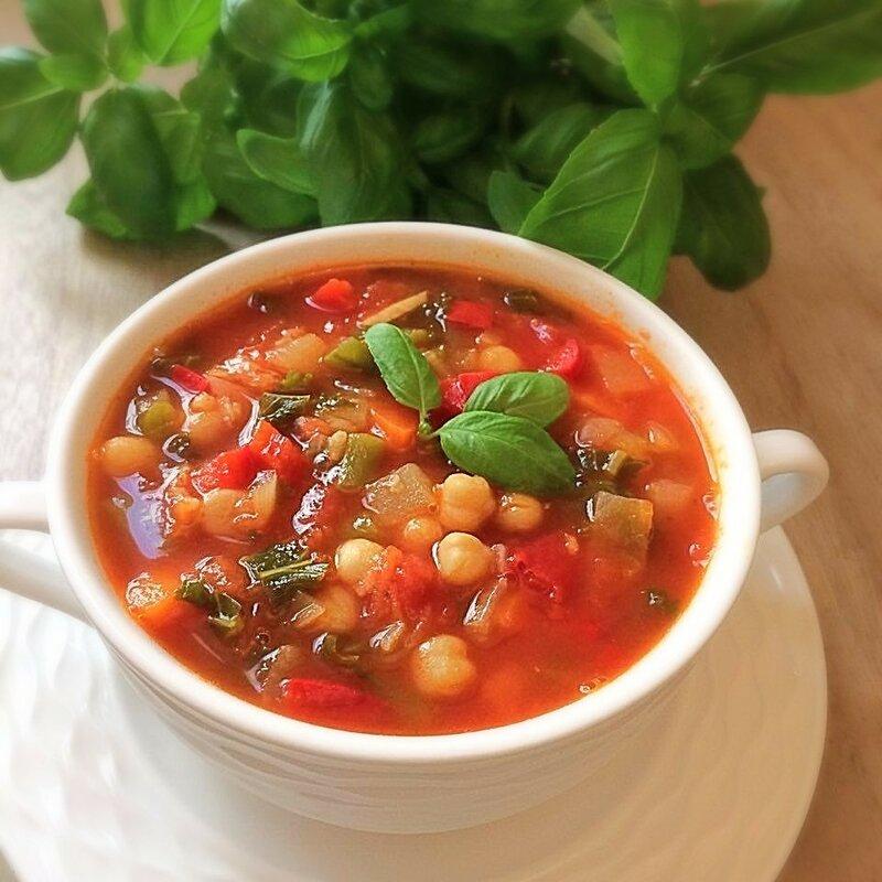 Суп минестроне рецепт овощной для похудения вкусный
