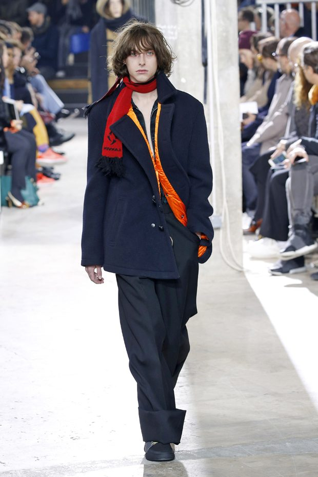 #PFW LANVIN Men's Fall Winter 2017.18 Collection