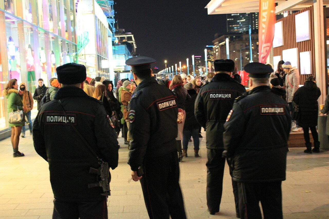 Полицейские сильно нервничали
