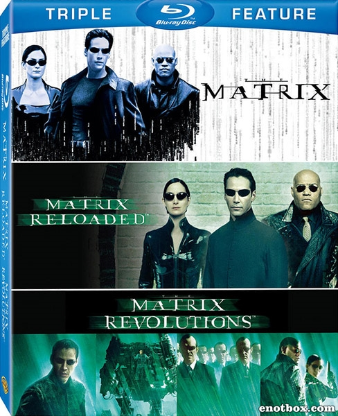 Матрица: Трилогия / The Matrix: Trilogy (1999-2003) BDRip 720p