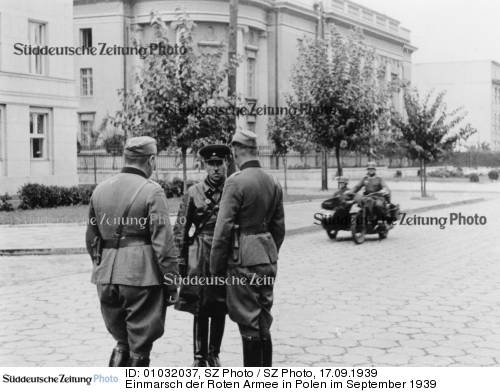 Einmarsch der Roten Armee in Polen im September 1939,  | The Red Army invaded Poland September 1939