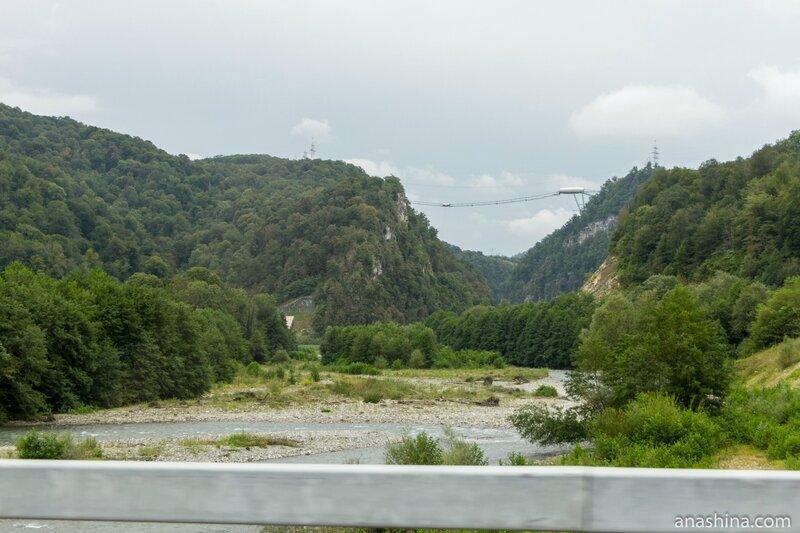 Долина реки Мзымта, Скайпарк, Сочи