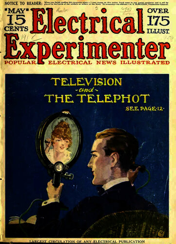 Electrical Experimenter: 1918 May - - Book Cover