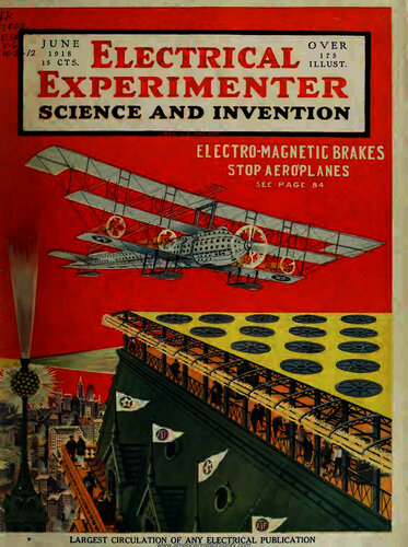 Electrical Experimenter: 1918 June - - Book Cover
