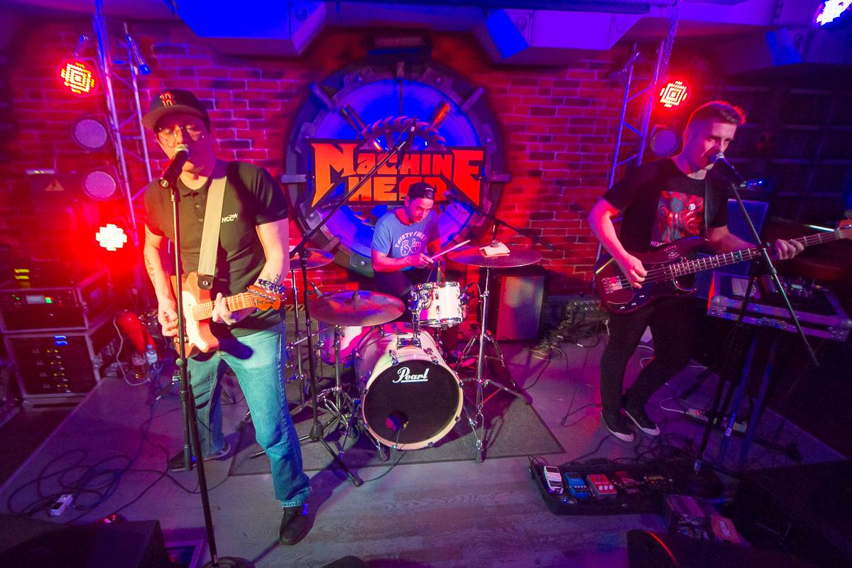концерт группы Кирпичи, Machine Head 04.11.2016 фото 1