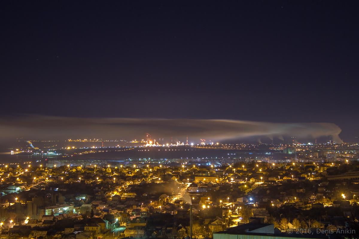 Ночная панорама Саратова фото 3