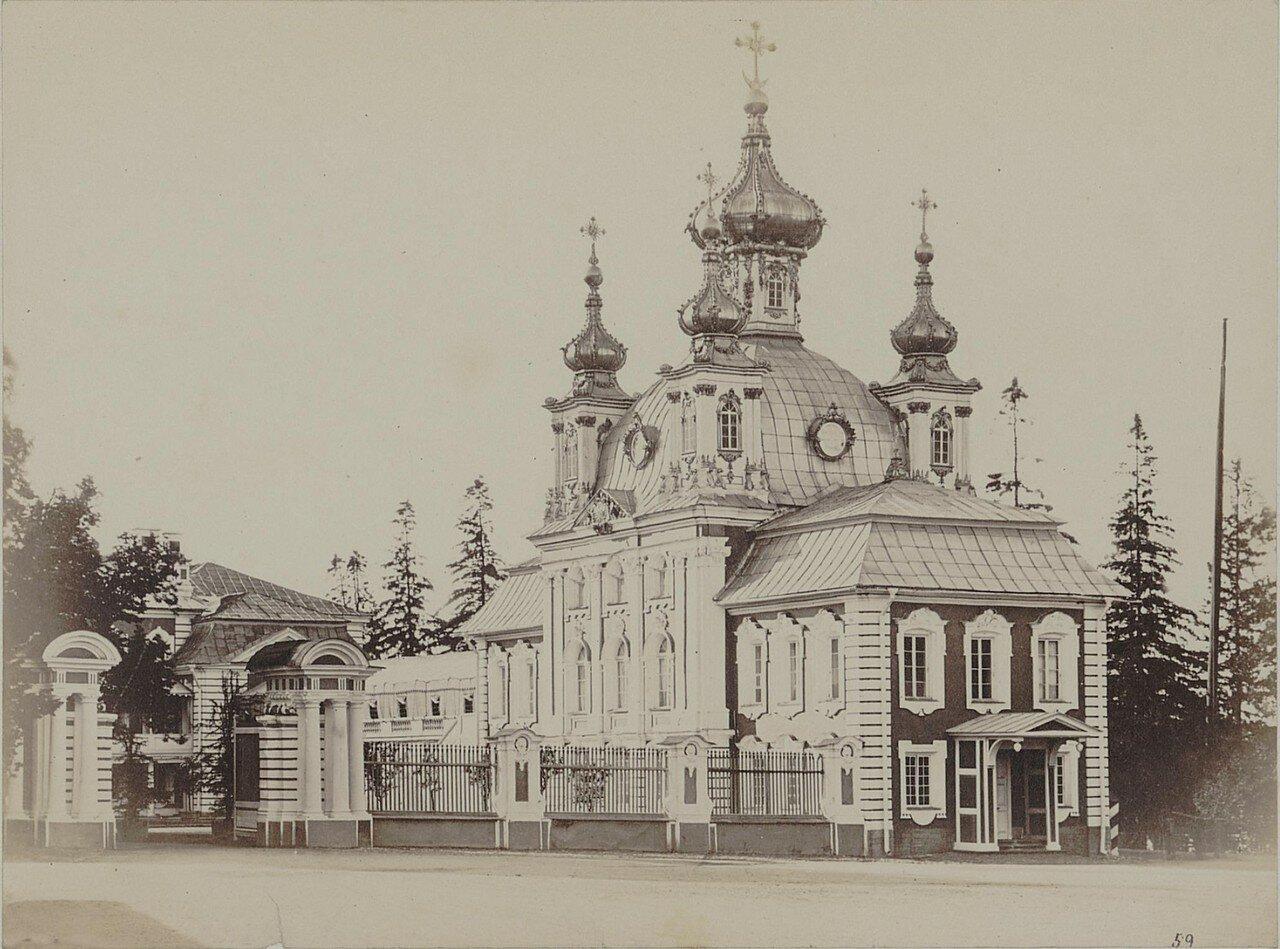 40. Церковь в Петергофе