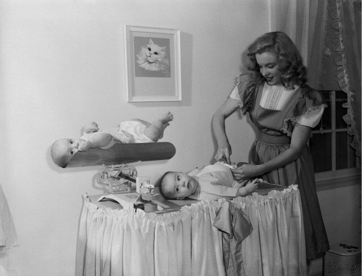 Marilyn Monroe and the Camera: бесконечный материал. Часть 297
