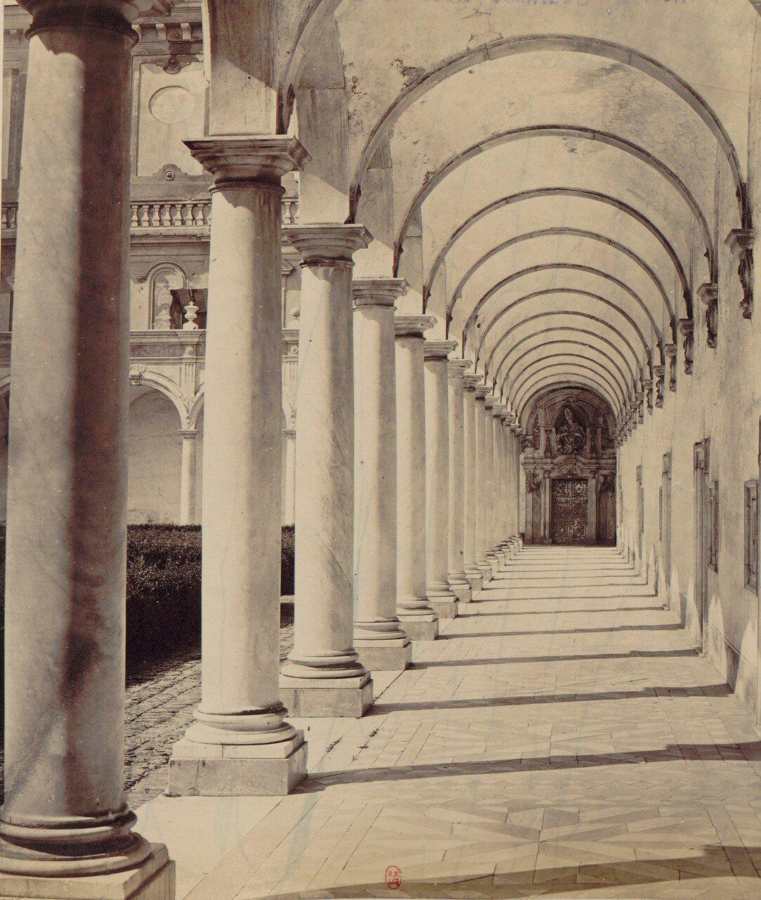 66. Картезианский монастырь святого Мартина. Галереи монастыря