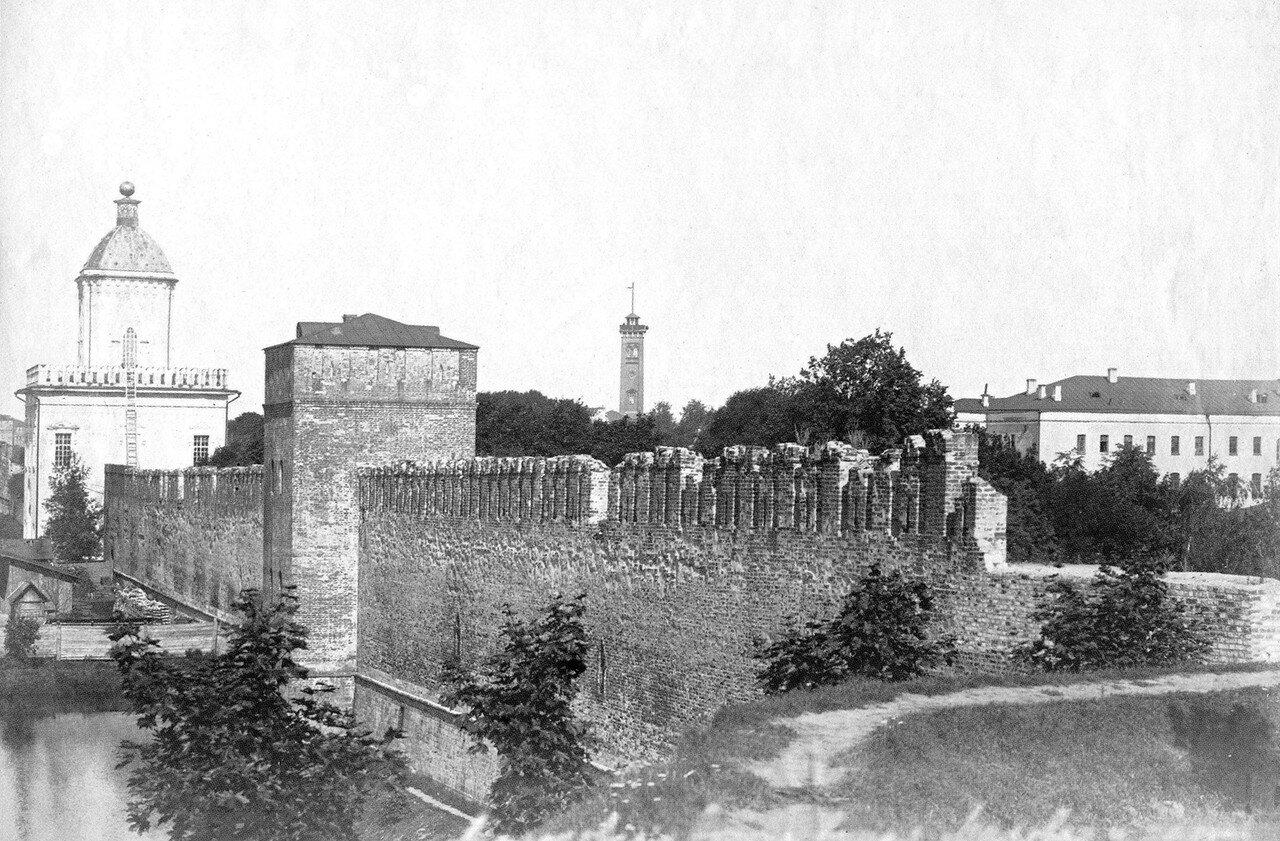 Молоховские ворота и Моховая башня. 1912