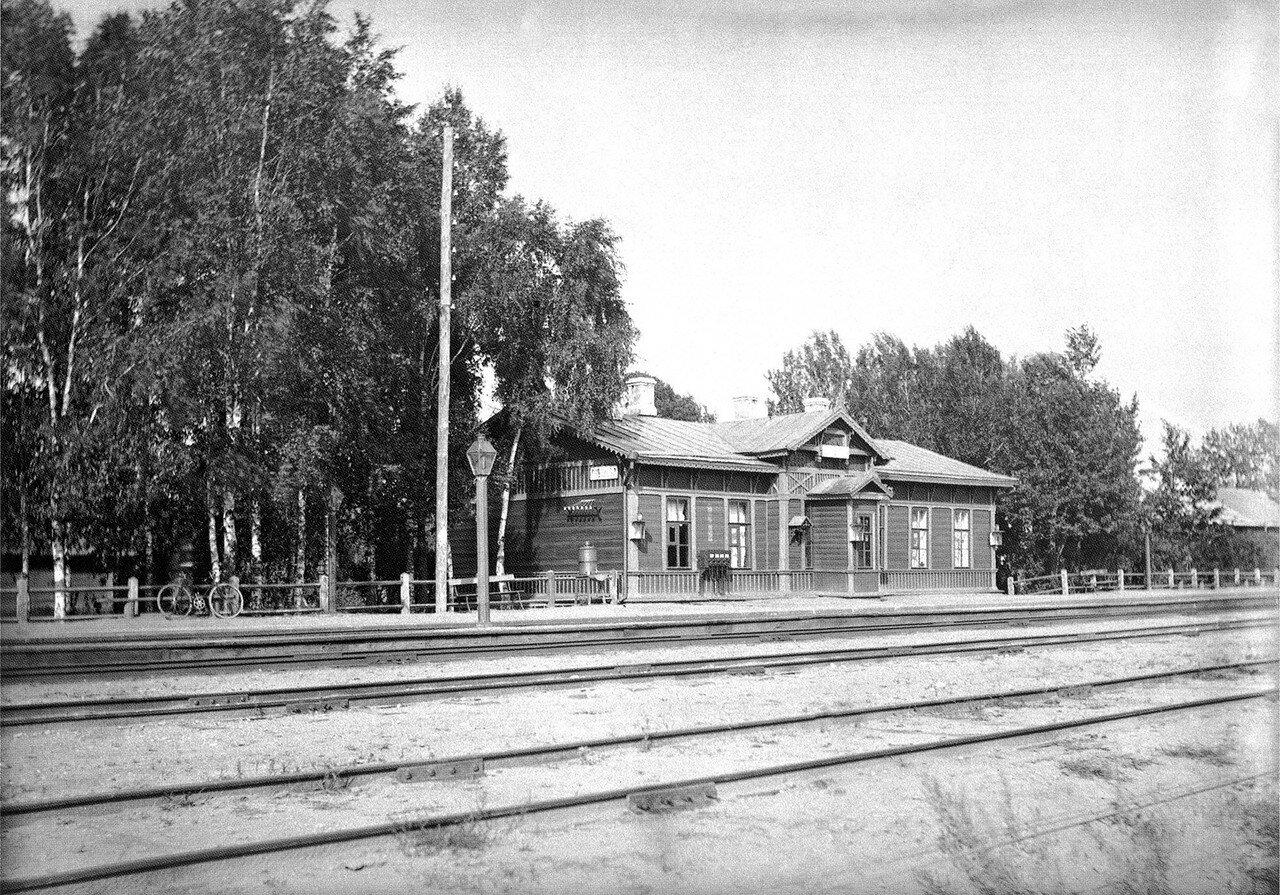 Окрестности Смоленска. Гнездово. Станция