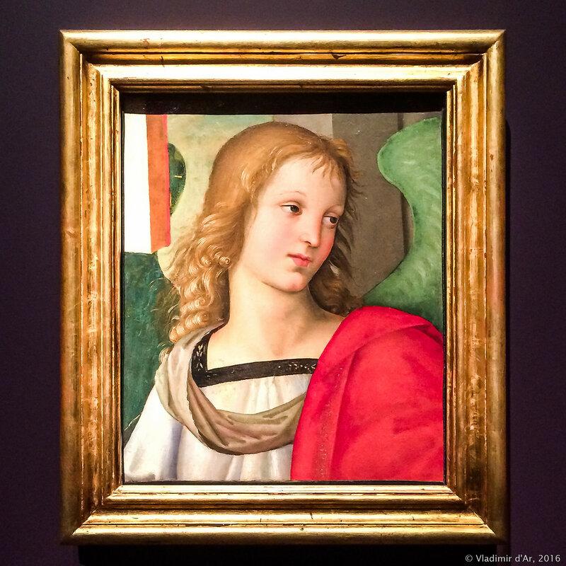 Рафаэль Санти. Голова ангела. 1501 г.