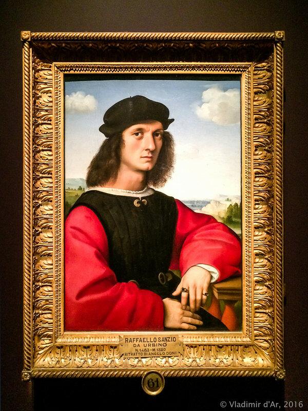 Рафаэль Санти. Портрет Аньоло Дони. Портрет Маддалены Дони. 1504–1507 гг.