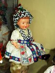 Кукла в чешском костюме