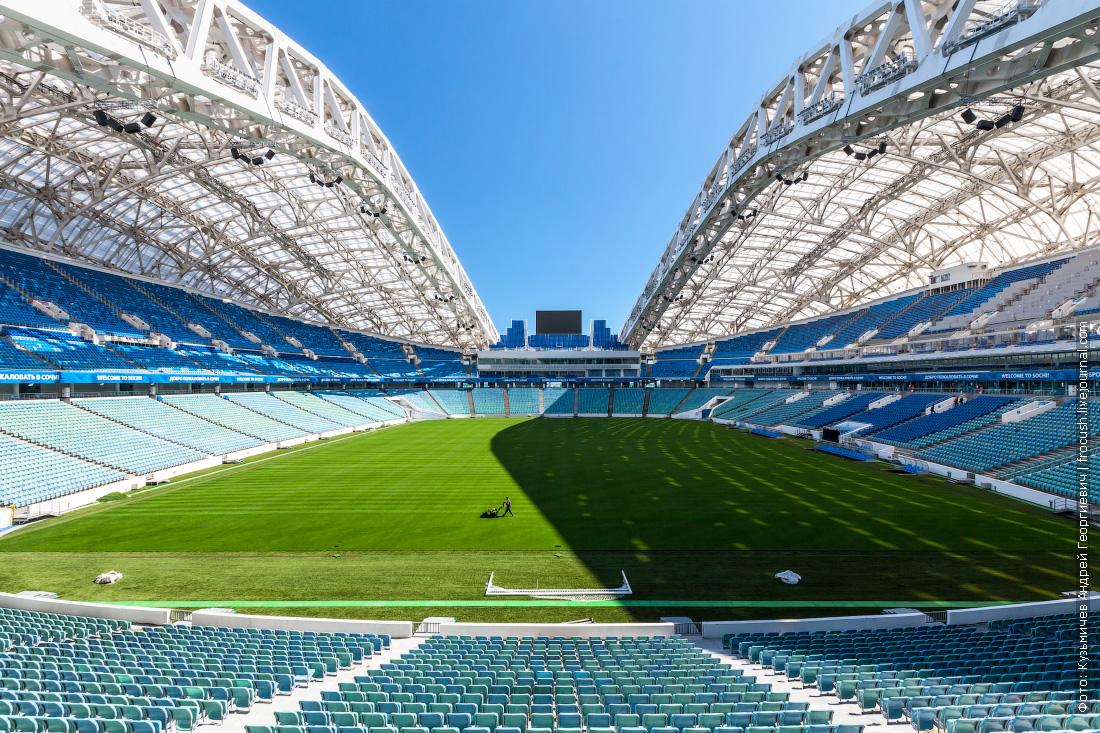 фото стадион фишт футбольное поле