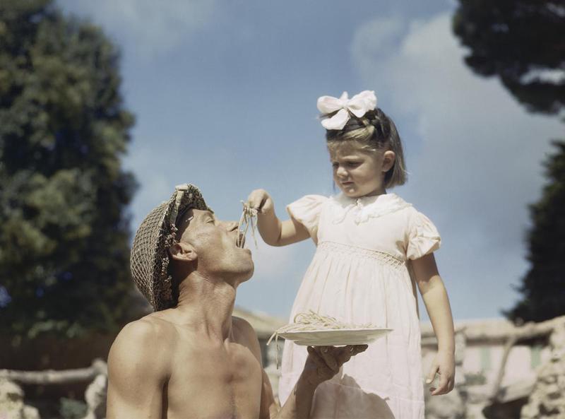 Италия 1945 года (50 цветных фото)