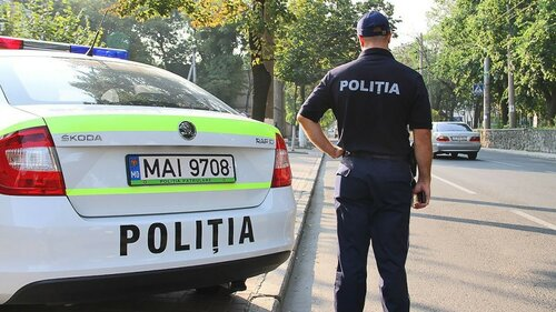 Полицейский изФалешт сбил консула Румынии и убежал сместа ДТП