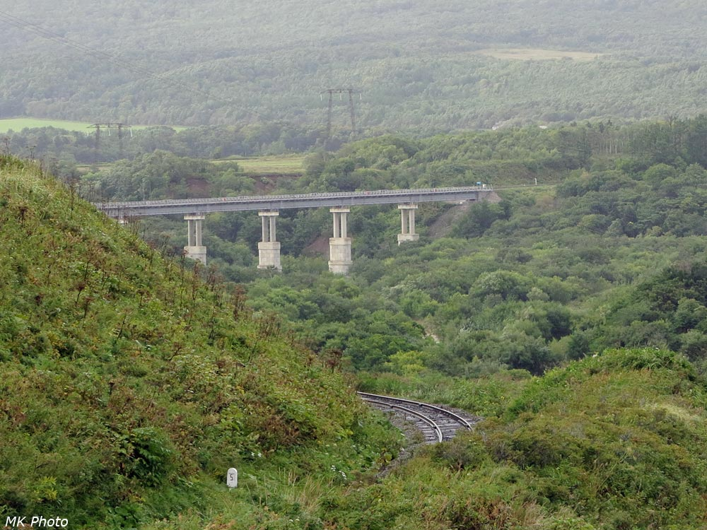 Железнодорожный мост через р. Новосёлка
