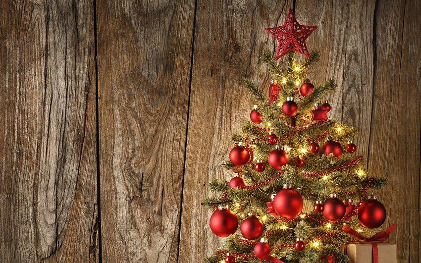 Новый год, рождество, новогодняя ёлка