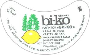 этикетка Би-ко