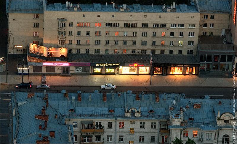 Бутики в 31-м доме на Кутузовском проспекте