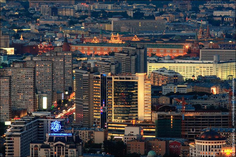Новый Арбат, Кремль и ГУМ