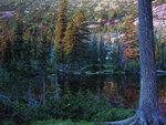 Ергаки. Озеро Лазурное. Закат.
