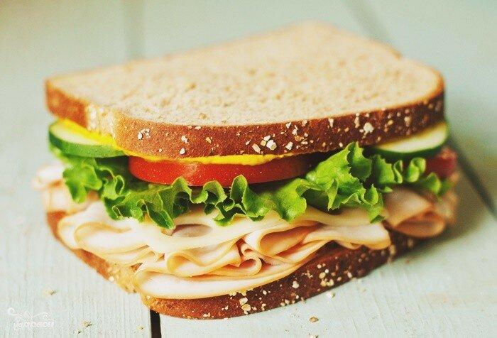 Горячие бутерброды из оставшихся продуктов после праздников