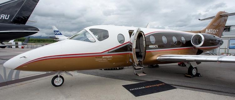 Лучшие самолёты частной авиации (1 фото)
