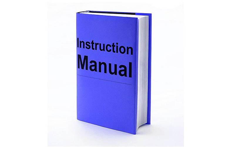 1. Прочитайте инструкцию Большинство людей – особенно мужчин – никогда не читают инструк