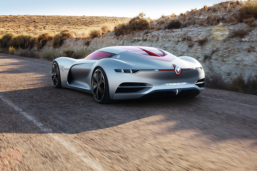 Концепт электро-суперкара Renault Trezor