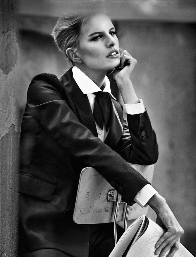 Каролина Куркова в Glamour