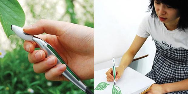 Сканирующая ручка была разработана корейским дизайнером Джинсу Парком (Jinsu Park). И в идеале д